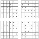14 Free Sudoku Word Search And Crossword Printable