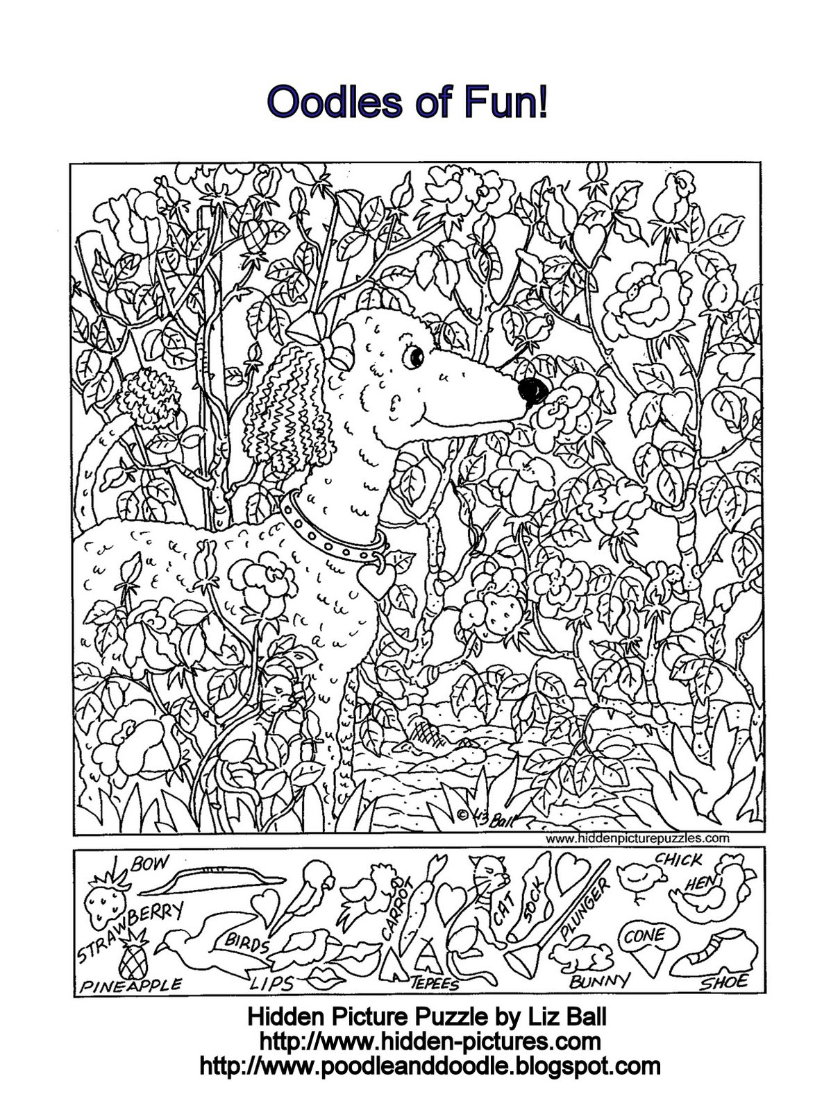 Free Printable Hidden Picture Puzzles For Adults