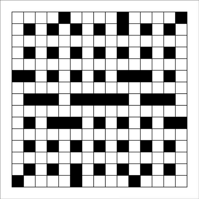 15 Blank Crossword Template Crossword Template Free