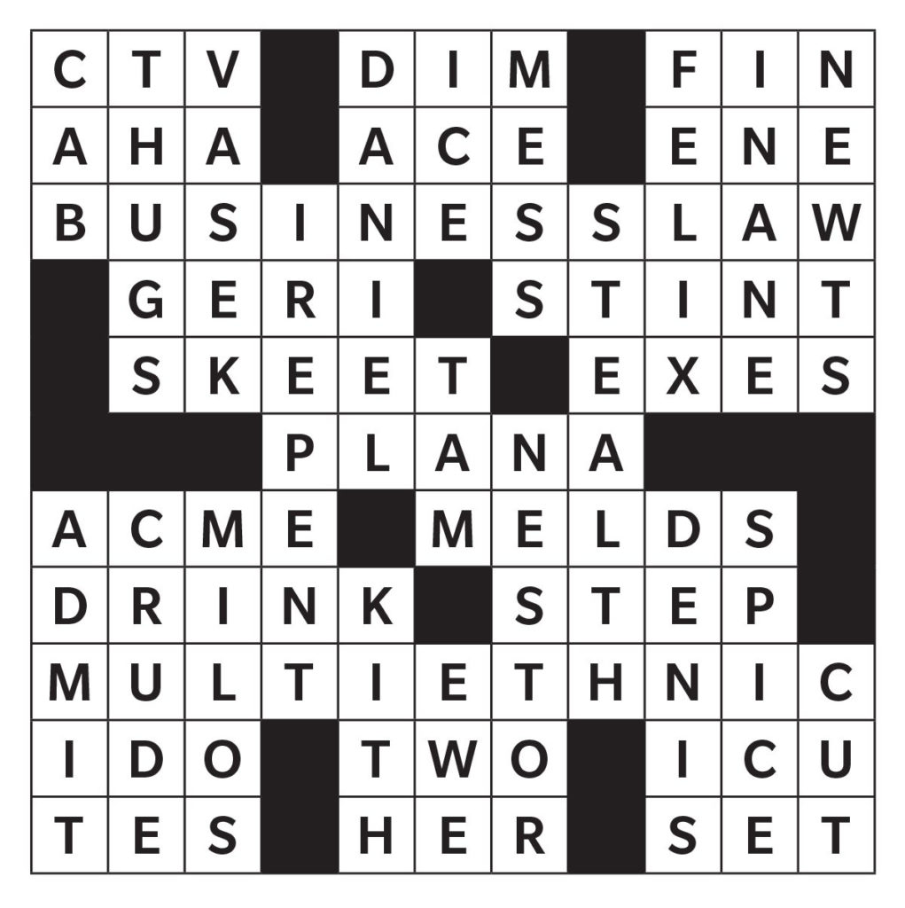 20 Printable Crossword Puzzles From Reader S Digest