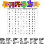 7 Best Printable Large Print Word Finds Printablee