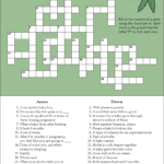 A Fun And Free Baby Shower Crossword Puzzle