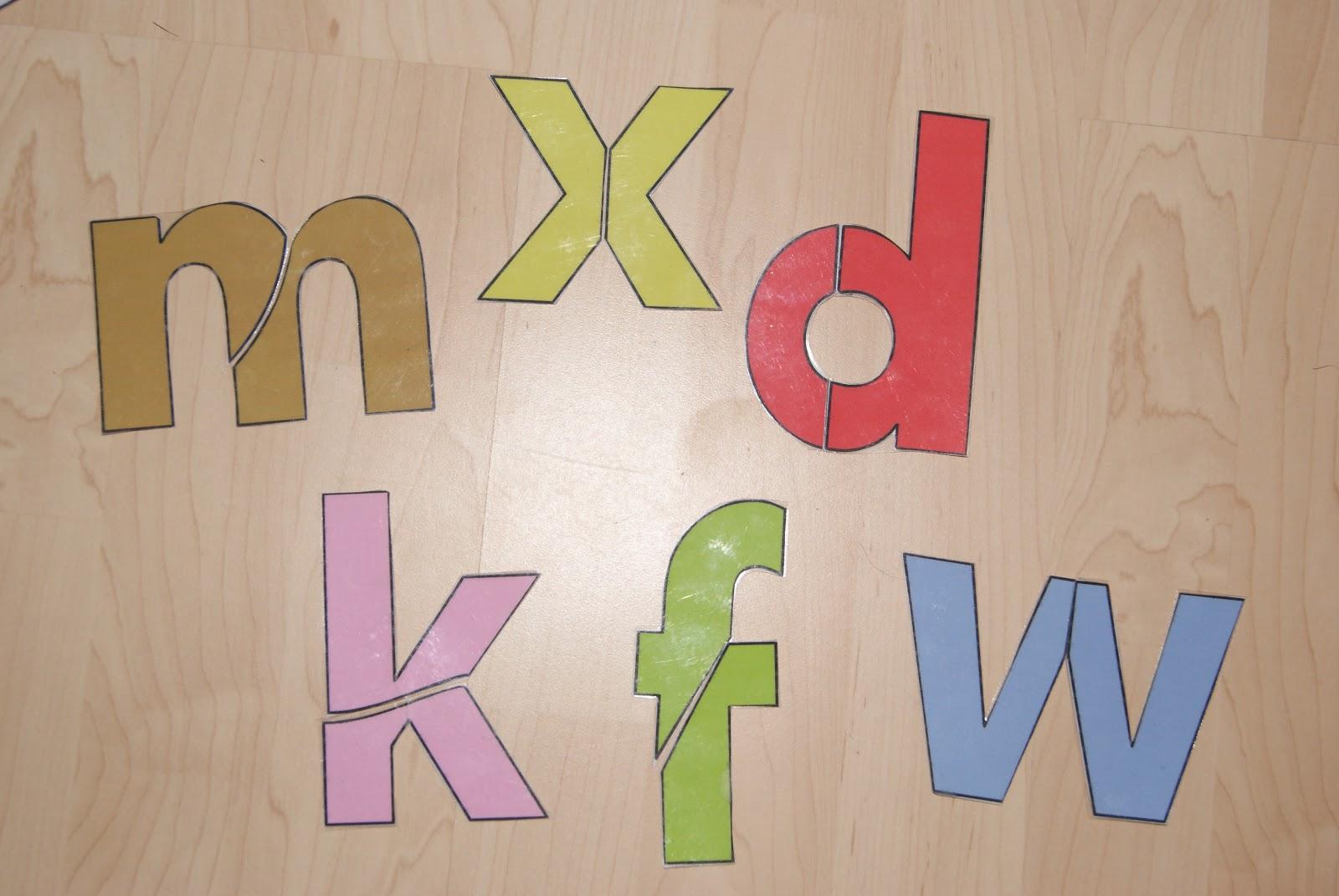 Free Printable Alphabet Jigsaw Puzzles