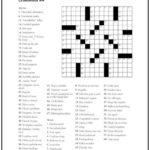 Crossword Puzzle 4 Print It Free