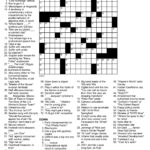 Daily Crossword Puzzle Printable Rtrs Online Printable