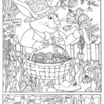Easter Coloring Pages Hidden Pictures Adult Coloring Pages