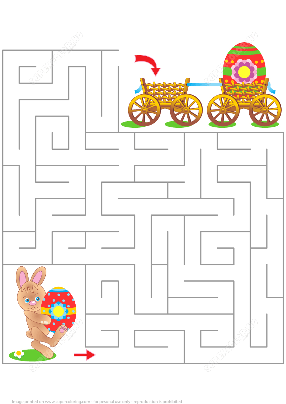 Free Printable Easter Puzzles And Games