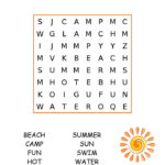 Easy Word Search For Kids Best Coloring Pages For Kids