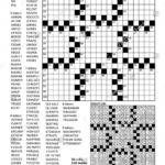 Fill In The Blanks Crossword Puzzle With American Style