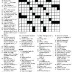 Free Printable Themed Crossword Puzzles Halloween