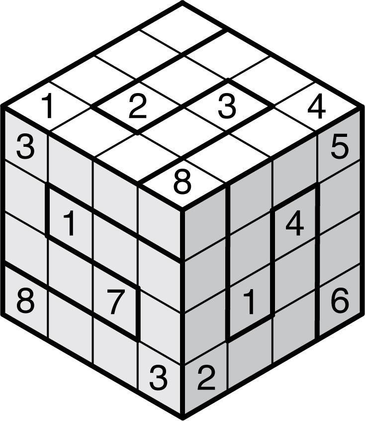 Free Printable 3d Sudoku Puzzles