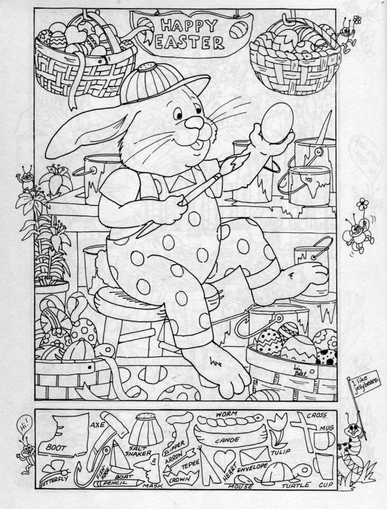 Hidden Pictures Publishing Easter Hidden Picture Puzzle