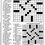Jacqueline E Mathews Printable Crossword Puzzles