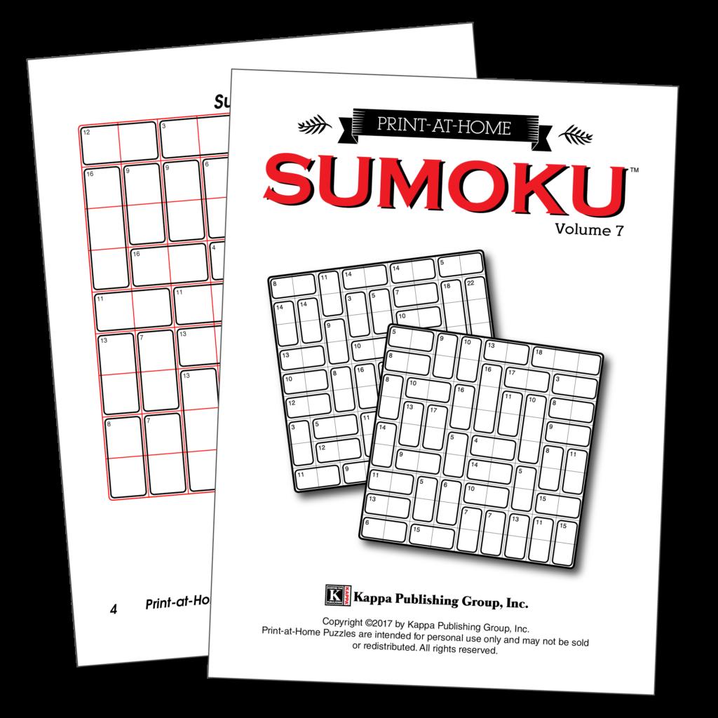 Print At Home Sumoku Kappa Puzzles