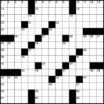 Printable Blank Crossword Grid Printable Crossword Puzzles