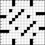 Printable Blank Crossword Grid Printable Crossword Puzzles