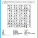Printable Christian Word Search Puzzles Word Search