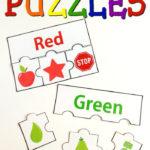 Printable Color Puzzles Color Activities Color Puzzle