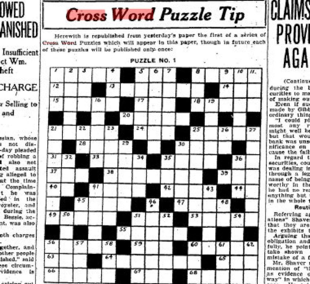 Printable Crossword Metro Printable Crossword Puzzles