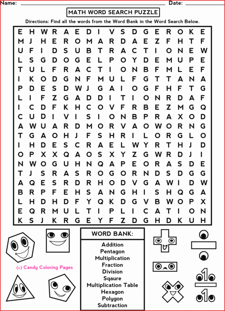 Printable Crossword Puzzles For 3Rd Graders Printable