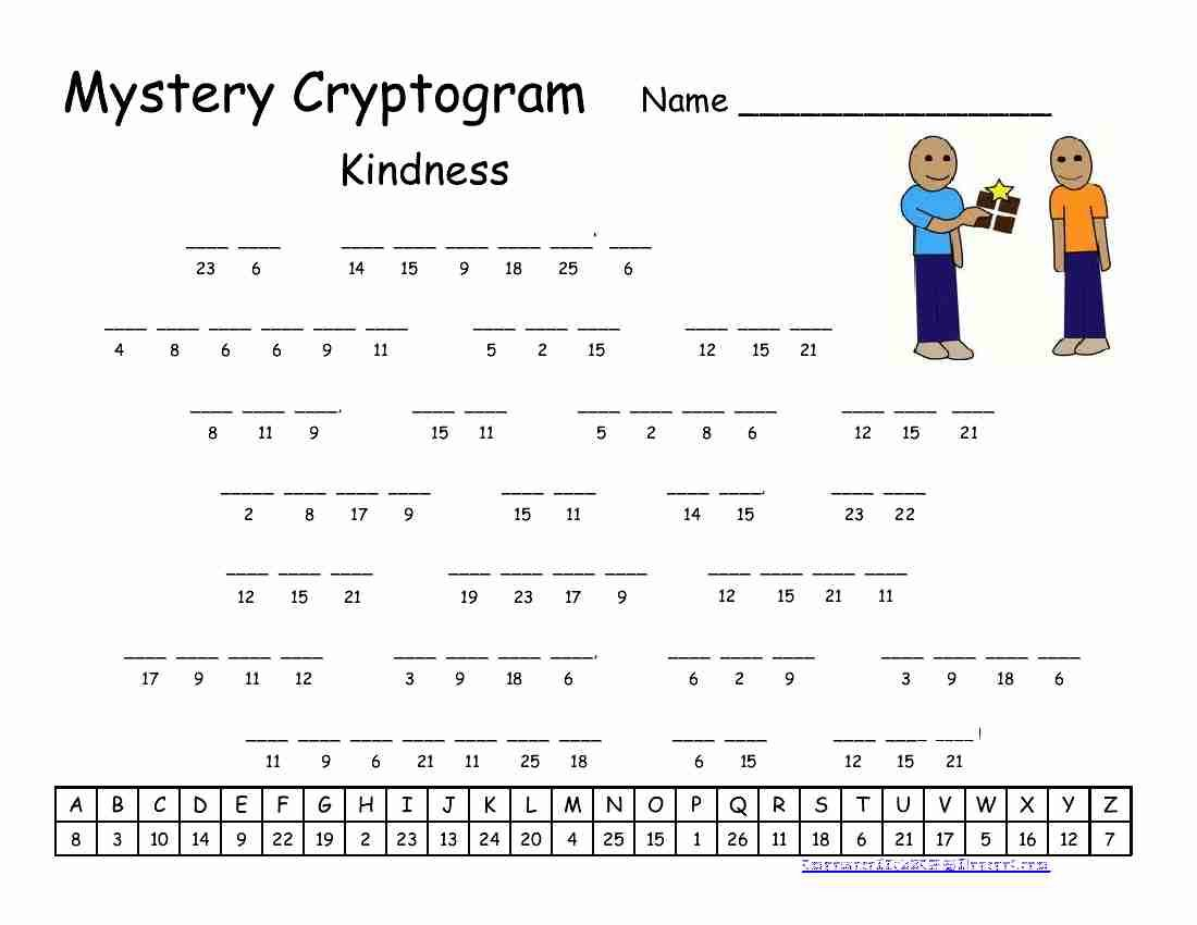 Free Printable Cryptogram Puzzles