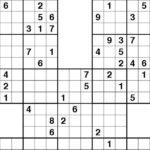 Samurai Sudoku Printable Printable Sudokuhard