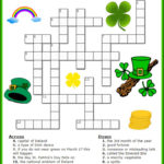 St Patrick S Day Crossword Puzzle Printable For Free