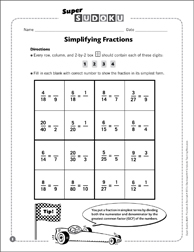 Free Fraction Puzzles Printable