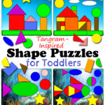 Tangram Shape Puzzles For Toddlers Totschooling