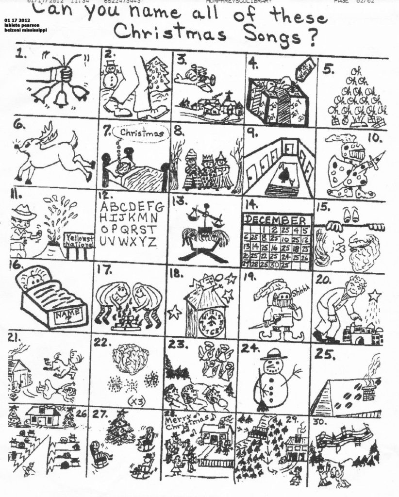 The Original Puzzle Christmas Pictures Christmas