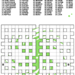 Fill In Crossword Criss Cross Puzzle Free Printable