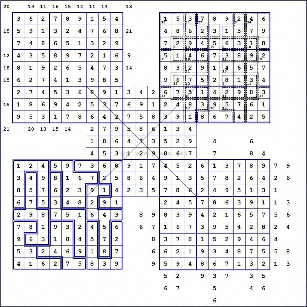 Loco Sudoku Printable Multi Sudoku Puzzles Printable