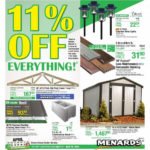 Menards 11 Off Everything Ad Valid From Apr 12 18 2020