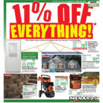 Menards 11 Off Everything Ad Valid From Mar 22 28 2020