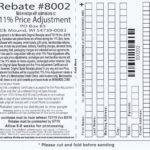 Menards 11 Price Adjustment Rebate 8002 Purchases 7 21