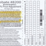 Menards 11 Price Adjustment Rebate 8200 Purchases 7 22