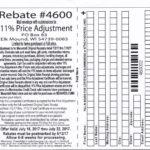 Menards 11 Price Adjustment Rebate Struggleville