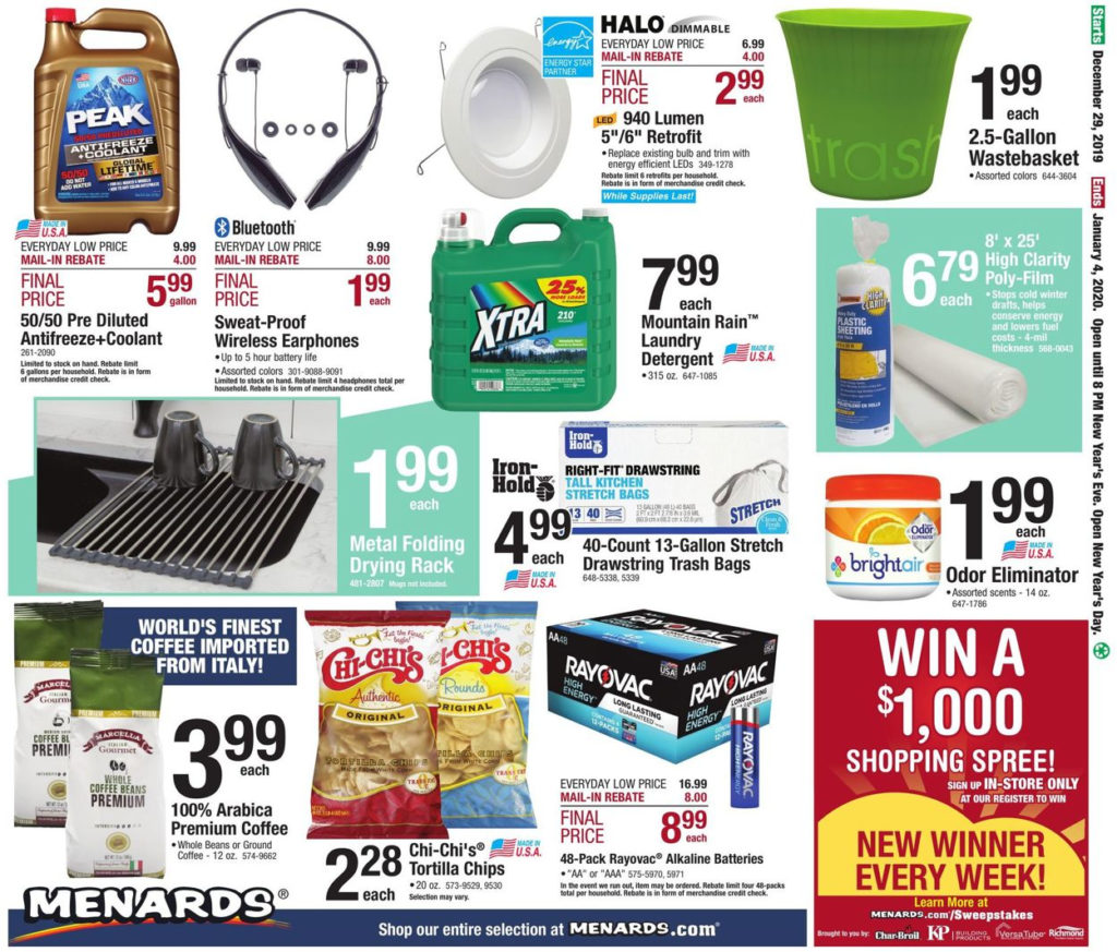 Menards Current Weekly Ad 12 29 01 04 2020 36