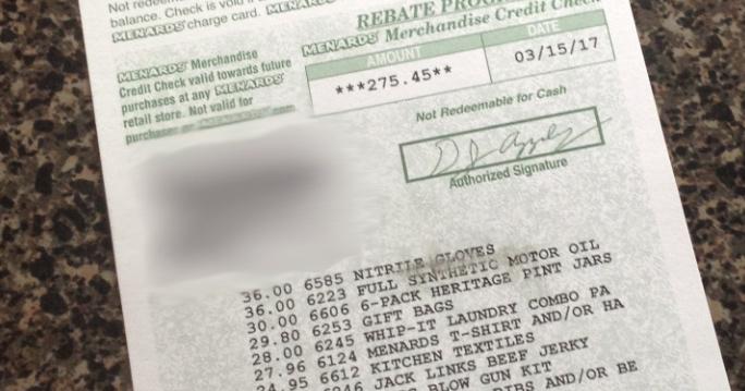 Can You Get Menards Rebates Online