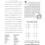 New Year Crossword Puzzle New Year Printables New Year