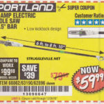 Portland 7 Amp Electric Pole Saw Expires 12 26 18