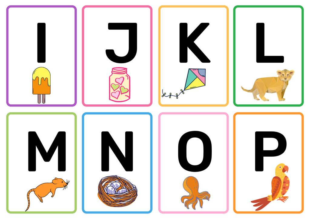 10 Printable Alphabet Flash Cards For Baby PDF Free