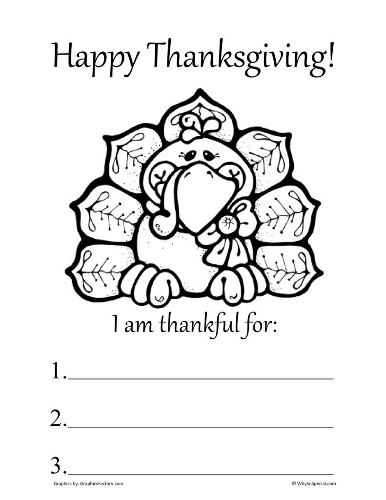 11 Best Images Of Thankful Worksheet Preschool I AM