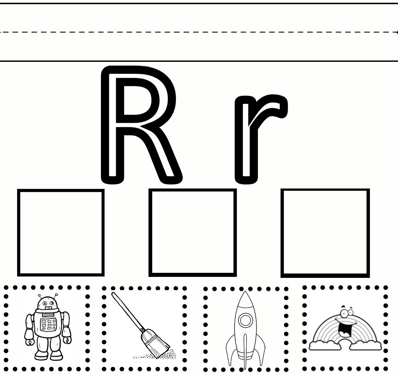 Letter R Free Printables