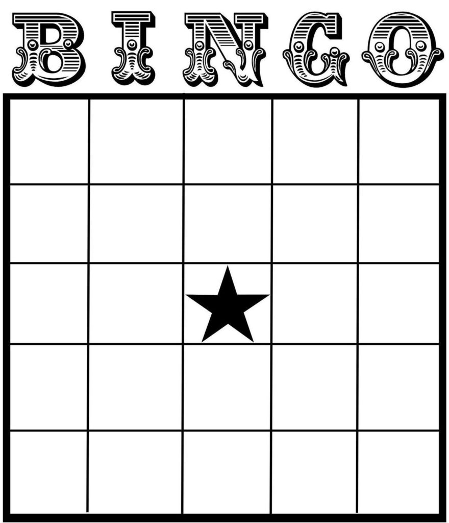 25 Amusing Blank Bingo Cards For All KittyBabyLove