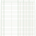 3 Column Ledger Paper Download Printable PDF Templateroller