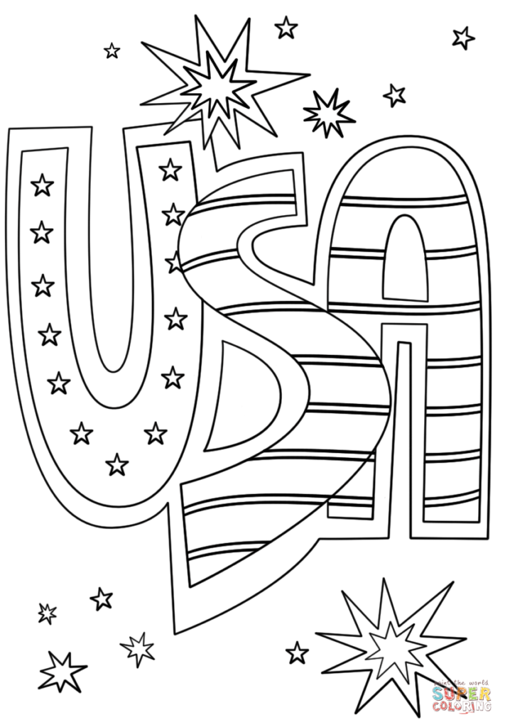 4th Of July Coloring Page Childrencoloring Us