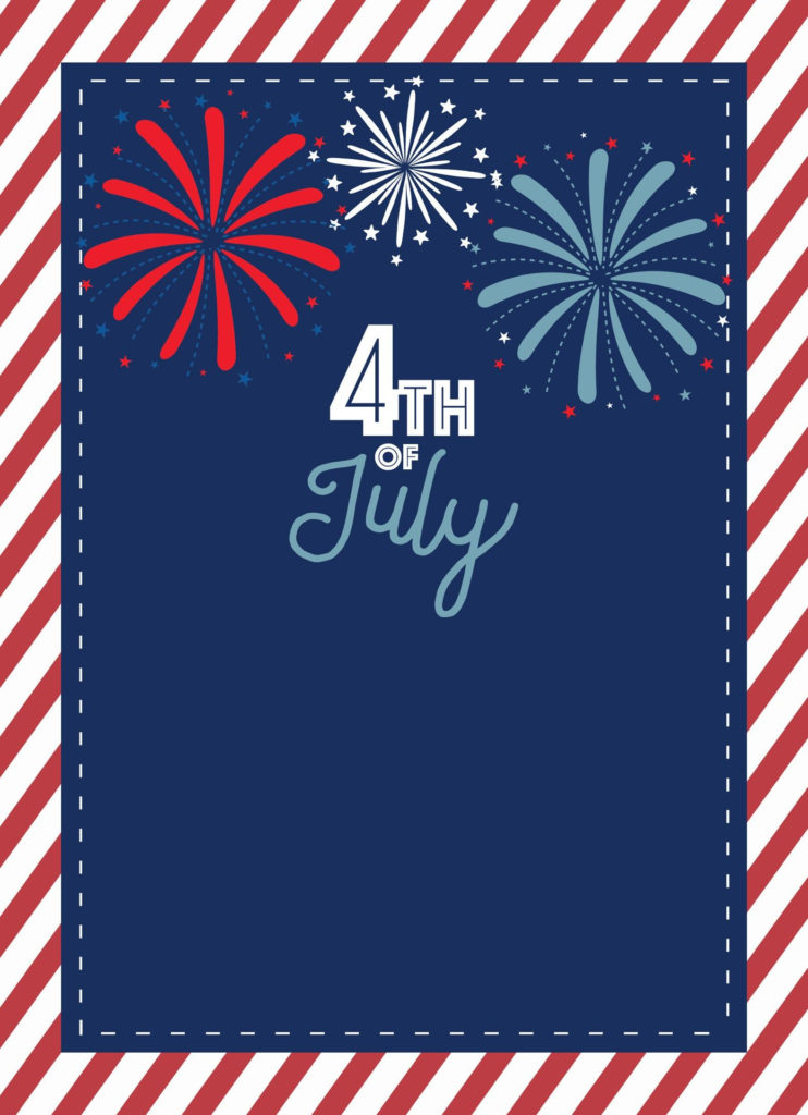 4th Of July Printables From Happy Fourth Of July 4th Of