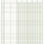 5 Column Ledger Paper Template Download Printable PDF