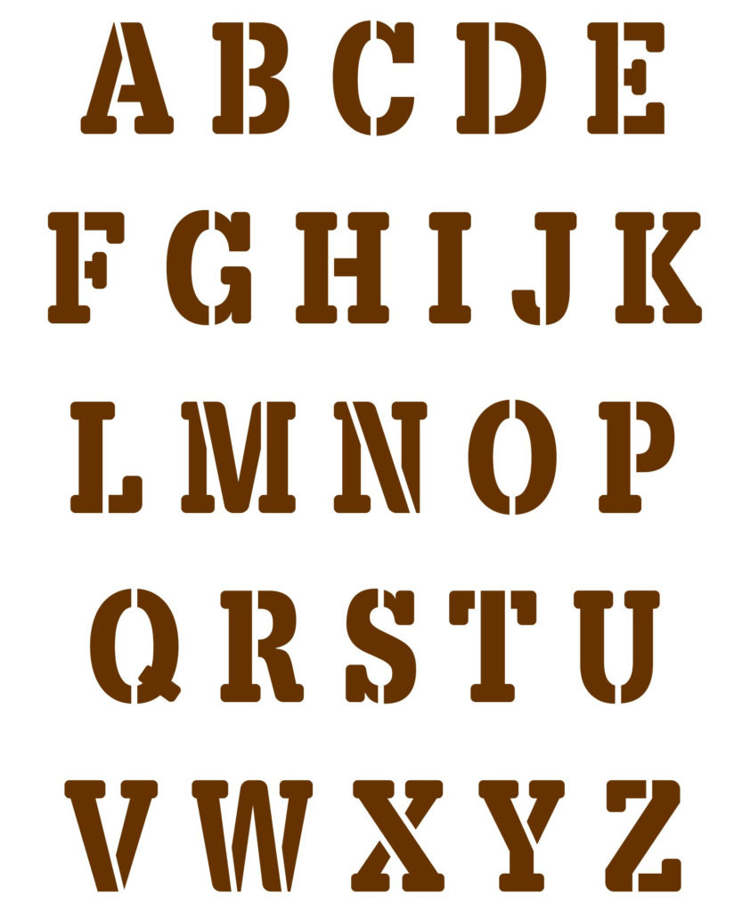 6 Best 2 Inch Alphabet Letters Printable Template